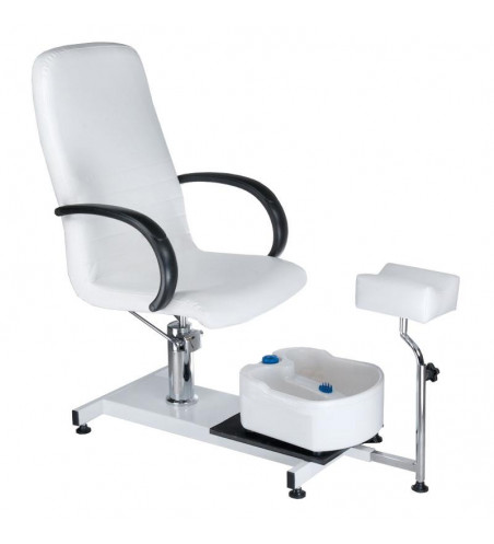 BW-100 pedicure chair with foot massager white