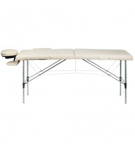 Stół do masażu i rehabilitacji BS-723 Kremowy