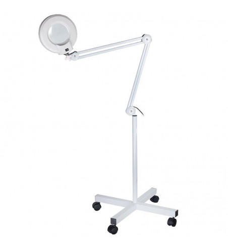 Lamp with magnifying glass (tripod) BN-205 8dpi