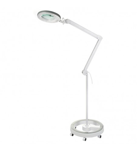 Lamp with magnifying glass on a Sonobella BSL-04 LED 12W tripod