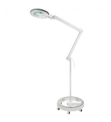 Lampa z lupą na statywie...