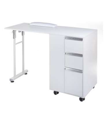 Folding manicure table...