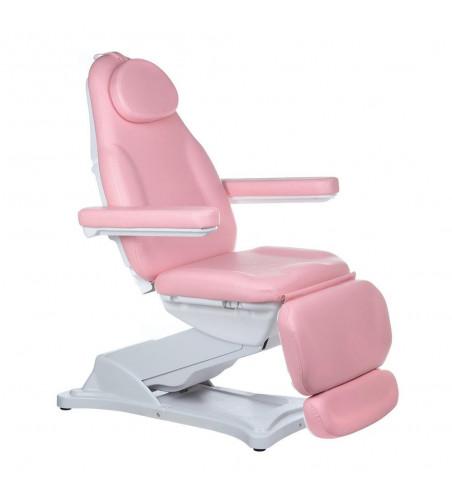 Elektryczny fotel kosmetyczny MODENA BD - 8194 Różowy