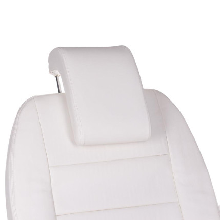 Cosmetic chair removable headrest