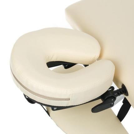 Fotel kosmetyczny zagłówek