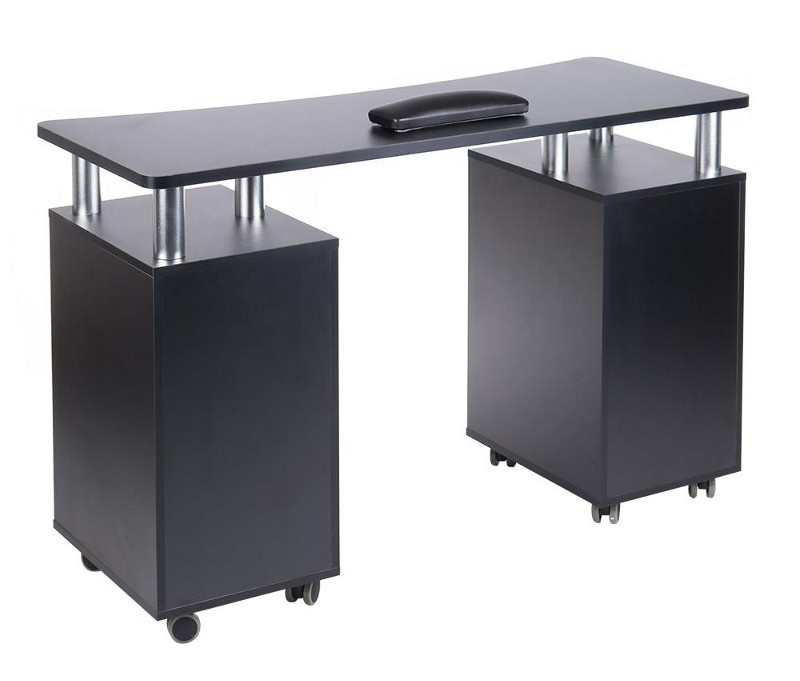 manicure table on wheels with drawers