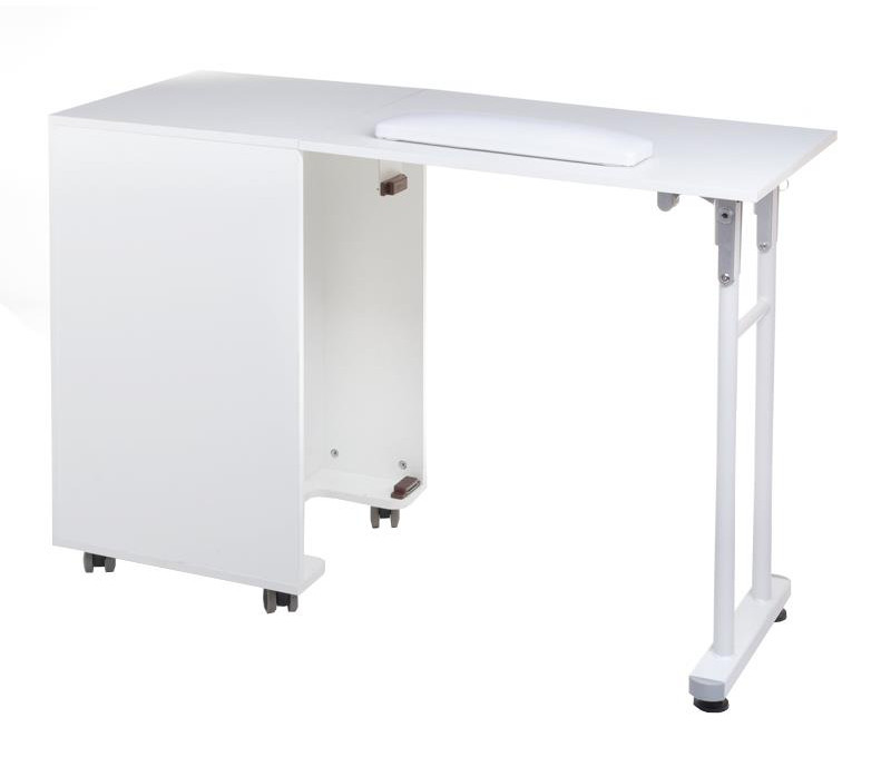 manicure table with cupboard