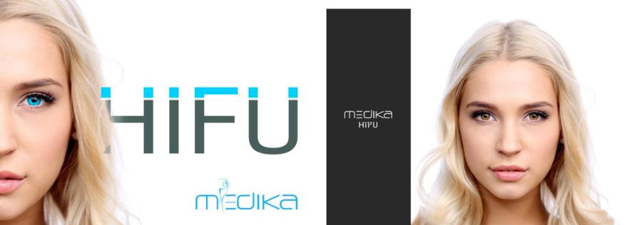 Medika HiFU ekran startowy