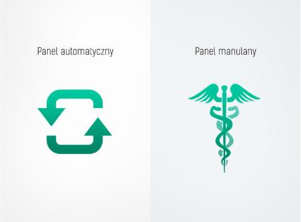 Medika Plasma ARC wybór panelu zabiegowego