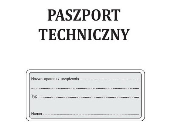 autoclave technical passport and performance of a zero inspection